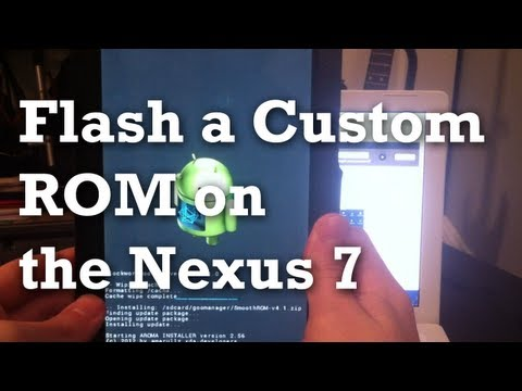 HOW TO Flash Custom ROM to Nexus 7 Jelly Bean 4.1, 4.2, 4.2.1 | EASY AND SIMPLE!
