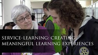 The Extraordinary Teaching Project: Service Learning: Creating Meaningful Learning Experiences