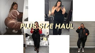 Huge Plus Size Haul | Boohoo Plus, In the Style Curve, New Look Curves, Forever 21+