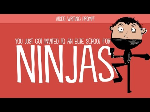 Creative Writing Prompt: Invent a School for Ninjas