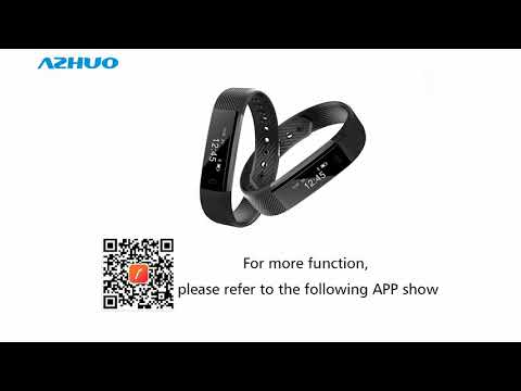 ID115 Smart Bracelet Fitness Tracker Step Counter Activity Monitor Alarm Clock Vibration Wristband