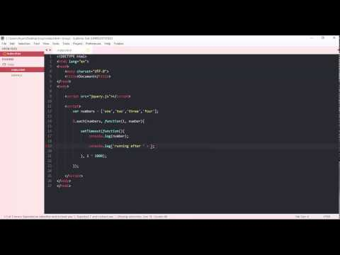 jquery - each loop with delay timeout, loop one by one, interval