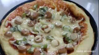 pizza teflon // membuat pizza tanpa oven // pizza tanpa oven