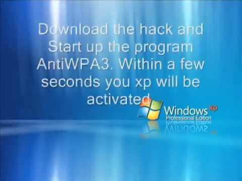 Windows XP SP2 Activation Hack Easy!!