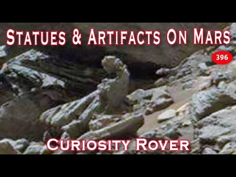 Amazing Mars Artifacts & Statues 2017 Curiosity Rover