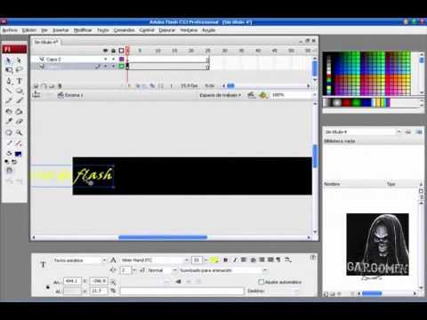 Banner Adobe flash CS3
