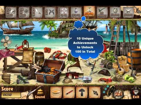 Pirate Island - Free Find Hidden Objects Games