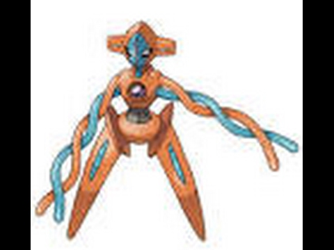 how to get deoxys in pokemon legends(2015 version)