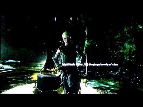 Skyrim.  Best vampire/Dawngard Quest