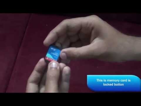 How to fix the memory card is locked check the tab error in any camera