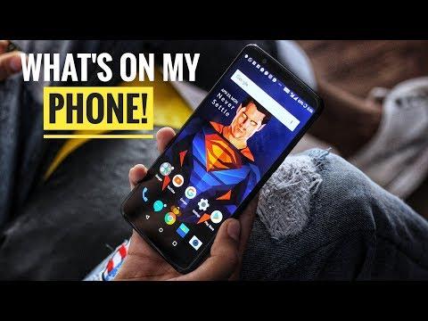 WHAT'S ON MY PHONE! MUST WATCH 😍 2018 | Naman Chhabra