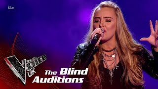 Holly Performs 'Sorry Not Sorry': Blind Auditions | The Voice UK 2018