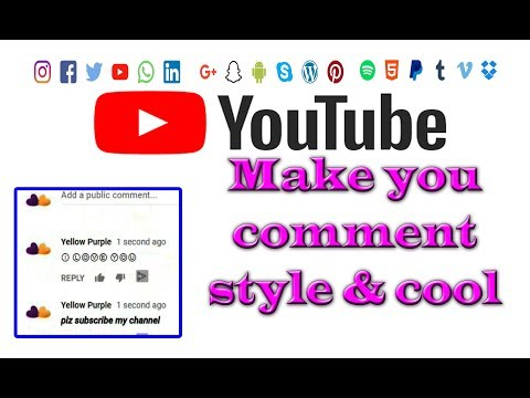 How to Make YouTube Comments BOLD, Italics, Underline and More |  Youtube comments tricks