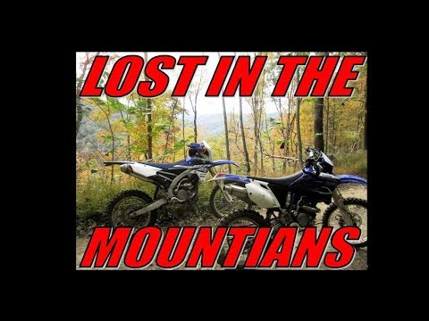 Lost in the mountains of West Virginia