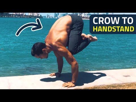 Crow To Handstand Tutorial