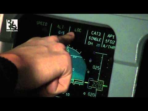 Aterrizar un Airbus 320 en automático (piloto automático)