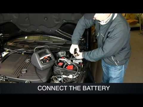 Using a Schumacher Battery Charger
