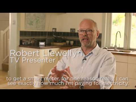 Robert Llwellyn discusses why smart meters go hand in hand with electric vehicles | Smart Energy GB