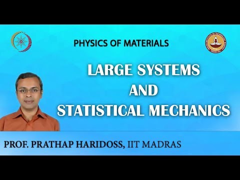 Large Systems and Statistical Mechanics