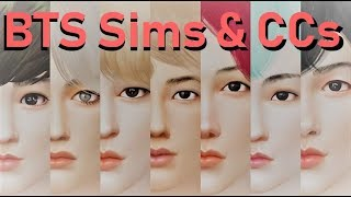 BTS sims and CC download links