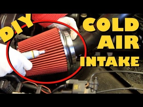 How To - Cold Air Intake