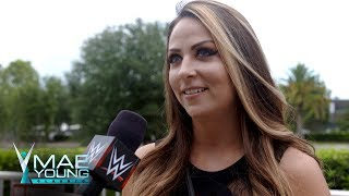 Emma talks about the opportunity that awaits the Mae Young Classic competitors: Exclusive, Aug. 28