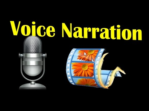 How to do Voice Narration in Windows Movie Maker