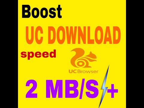 How to get 1mb/s download speed in UC Browser in 2 second