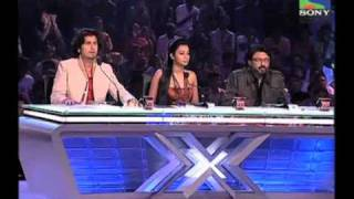 X Factor India - Pooja Chakraborty rocks the stage with Jhoom Baba - X Factor India - Episode 5 -  2nd June 2011