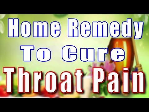 HOME REMEDY TO CURE THROAT PAIN II गले के दर्द का घरेलू उपचार