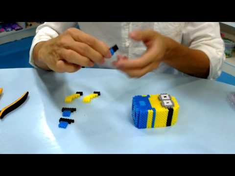 How to Make Minions by Artkal Beads