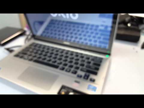 How to boot into a Sony Vaio E/F series BIOS