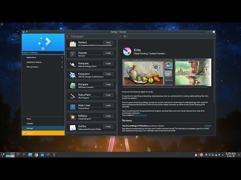 [KDE PLASMA 5.13 - dev] Flatpak Stores Support on Discover!