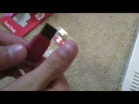 Wrapsol for iphone 3g/3gs and Sandisk 8gb thumbdrive unboxing