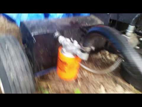 Huskee 22 ton log splitter oil and hydrolic filter change