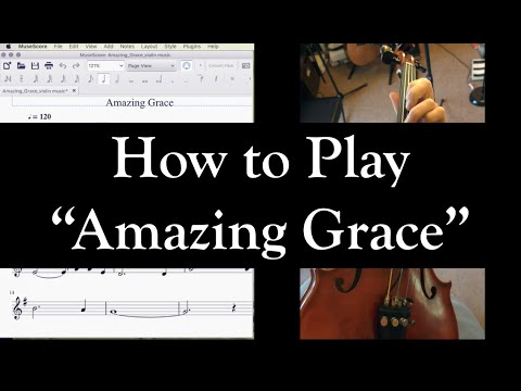 How to Play Amazing Grace on the Violin