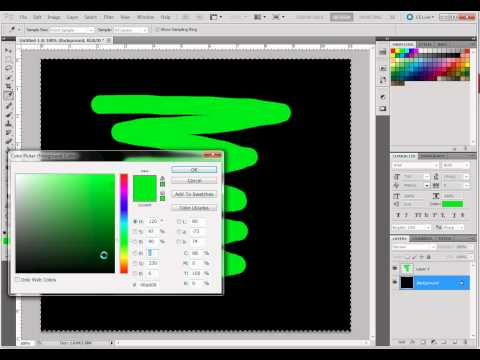How to Change Color of Background Layer in Photoshop CS5