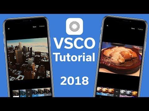 VSCO and VSCO X Tutorial - Make your photos pop