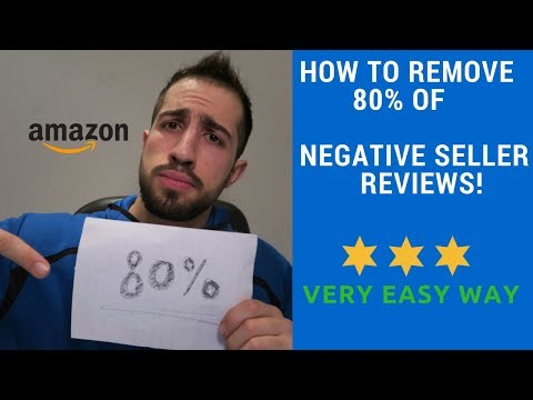 How To Remove Negative Feedback/ Seller Reviews On Amazon 2018 in 3 Minutes! (Easy)