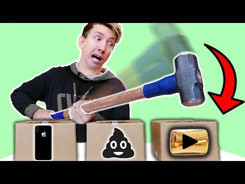 Fortnite NINJA WEAPONS vs YouTube Gold Play Button Award & iPhone Mystery Box Challenge!
