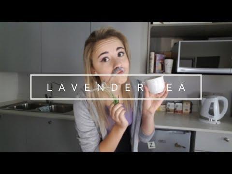 How to make lavender tea    DIY