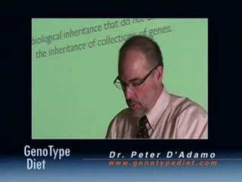 Peter D'Adamo: Wilton Lecture 11/28/2007, Part I