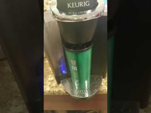 Draining your Keurig without disassembly