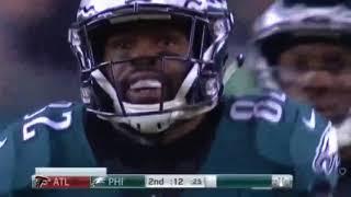 Eagles Convert Crazy Tip-Drill Play | Falcons vs. Eagles | NFL