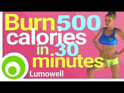 Burn 500 Calories in 30 Minutes at Home - Fat Burning Workout