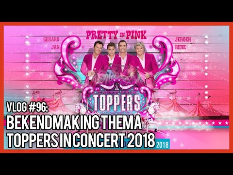 BEKENDMAKING THEMA TOPPERS IN CONCERT 2018 - GERARD JOLING VLOG #96