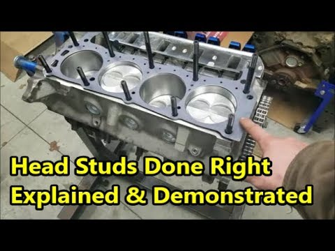 Installing Head Studs Properly - Simple & Effective