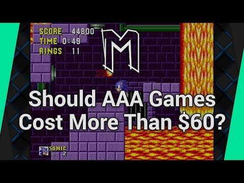 Should AAA Games Cost More Than $60? - Design View (Playing Sonic The Hedgehog)