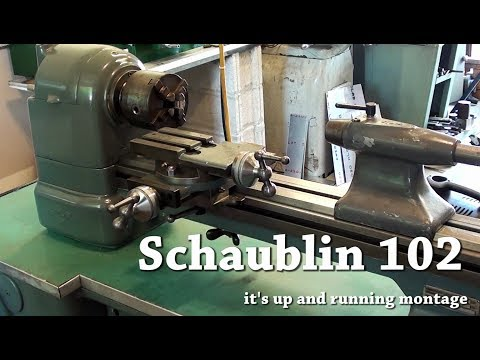 Schaublin 102 (it's up and running!)