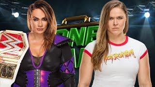 WWE Money in the Bank 2018 - Ronda Rousey vs Nia Jax - WWE RAW Women